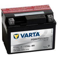 Akumulator motocyklowy Varta YTX4L-BS 3Ah 40A