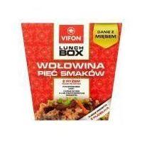Lunch Box Danie błyskawiczne wołowina 5 smaków z ryżem 175 g Vifon