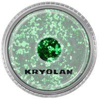 polyester glimmer coarse (light green) gruby sypki brokat - light green (2901) marki Kryolan