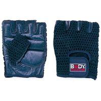 BODY SCULPTURE - SW 83 XL - Rękawice siatka/skóra - XL z kategorii odzież fitness