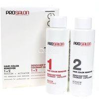 ProSalon Color Peel Hair Color Remover 1+ 2 - Dekoloryzator do włosów, 2 x 100g (5900249030101)