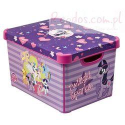 Pojemnik pudełko na zabawki Kucyki My Little Pony