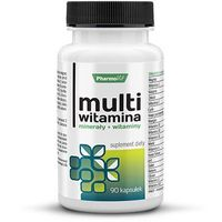Multiwitamin Minerały + witaminy 90kp Pharmovit