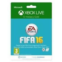 Microsoft Ms xbox 12 months subscription xbox live gold + 1m ea access branding fifa