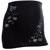 pas podtrzymujący brzuch serduszka kolor czarny marki Mamaband