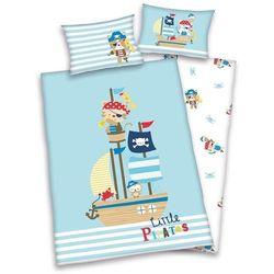 herding Pościel dziecięca do łóżeczka Lara Little Pirat, - produkt z kategorii- Komplety pościeli dla dzieci