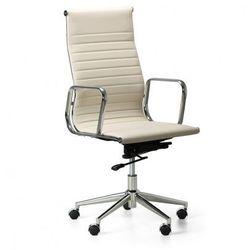 B2b partner Fotel biurowy style l, kremowy