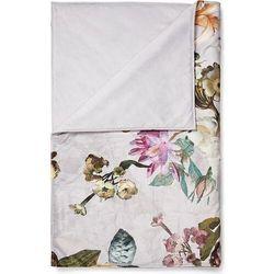 Essenza Narzuta fleur 135 x 170 cm jasnoszara