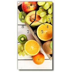Zegar Szklany Pionowy Kuchnia Owoc winogrona kolorowy, kolor wielokolorowy