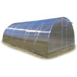 Tunel szklarnia Premium 4x10 z poliwęglan 4 mm rura stal ocynk.