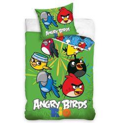 Tip trade pościel bawełniana angry birds rio mix, 140 x 200 cm, 70 x 80 cm marki 4home