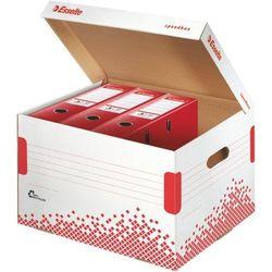 Esselte Pudło do archiwizacji speedbox mieści 7 segregatów 75 mm biały - x07653