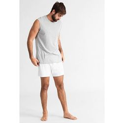 The White Briefs PLUTO Koszulka do spania grey melange - produkt z kategorii- Pozostała bielizna męska