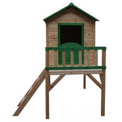 Drewniany domek ogrodowy dla dzieci tosia marki 4iq