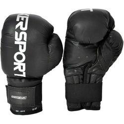 Rękawice bokserskie AXER SPORT A1339 Czarny (12 oz) - produkt z kategorii- Rękawice do walki