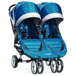 Wózek BABY JOGGER City Mini Double Teal/Gray + DARMOWY TRANSPORT!, towar z kategorii: Wózki spacerowe