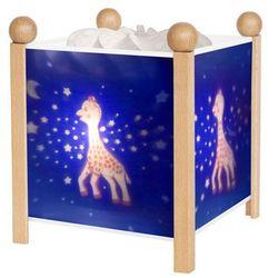 Trousselier Sophie la girafe - magiczna lampka / lampka nocna biały wys.19cm