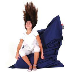 Beliani Xxl poducha pufa worek do siedzenia 140x180cm ciemnoniebieski (7081458377725)
