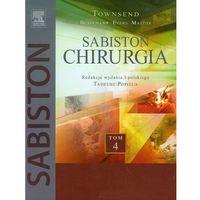 Chirurgia Sabiston Tom 4 (2013)