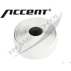 610-11-051_ACC Owijka na kierownicę ACCENT AC-Tape 2szt. x2m, biała, Accent z ROWEREK.PL
