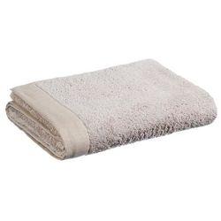 Bawełniany ręcznik kąpielowy, 150 x 100 cm, kolor beżowy marki Atmosphera créateur d'intérieur