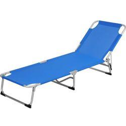 Redcliffs outdoor Składane łóżko royal blue polowe, turystyczne - aluminium (8711295233005)