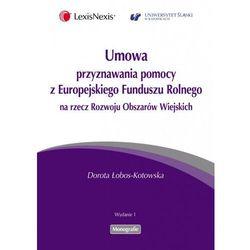 Umowa przyznawania pomocy z Europejskiego Funduszu Rolnego na rzecz Rozwoju Obszarów Wiejskich (kategoria: Pr