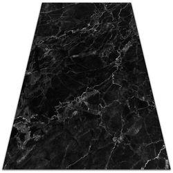 Nowoczesny dywan na balkon wzór Nowoczesny dywan na balkon wzór Czarny marmur