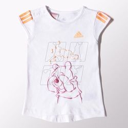 Komplet adidas Winnie the Pooh Girls Summer Set Kids S22051 - produkt z kategorii- Komplety odzieży dla dziec