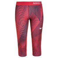 Nike Performance PRO CAPRI Rybaczki sportowe siren red/light fusion red/white, 859944