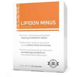 Lipidon minus x 60 kapsułek od producenta A-z medica