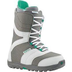 SNB damskie buty BURTON - Coco White/Gray/Teal (110) rozmiar: 40.5