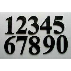 Numer, Numery na Drzwi z czarnej Plexy
