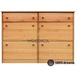 Woodica Szafka na buty ii + szuflada podwójna (wąska/szeroka) 110x98x29