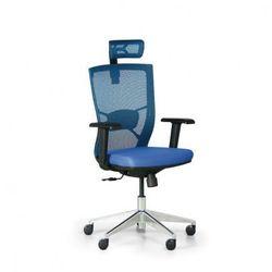 Krzesło biurowe desi, niebieski marki B2b partner