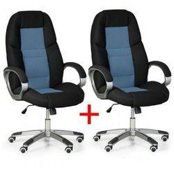 Krzesło biurowe kevin 1+1 gratis, niebieski marki B2b partner