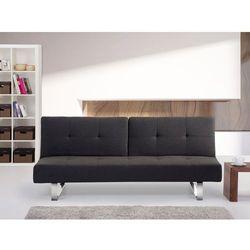 Rozkładana sofa ruchome oparcie - DUBLIN ciemny szary (sofa)