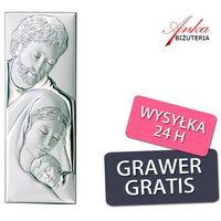 Obrazek srebrny święta rodzina na prezent marki Valenti & co