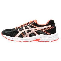 ASICS GELCONTEND 4 Obuwie do biegania treningowe black/silver/flash coral (buty do biegania)