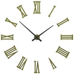 Zegar ścienny Da Vinci CalleaDesign oliwkowo-zielony, kolor zielony