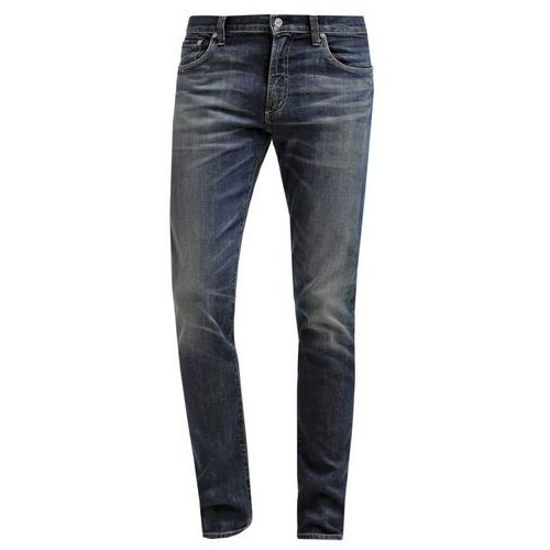 Citizens of Humanity BOWERY PURE SUPER SKINNY Jeansy Slim fit dark blue denim (spodnie męskie)