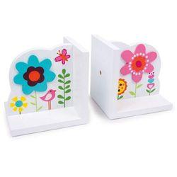 Podpórki do książek dla dzieci Kwiaty