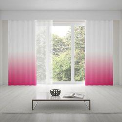 Zasłona okienna na wymiar - DARK PINK - KOLOR 150 CM