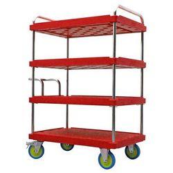 Wózek piętrowy do dużych obciążeń, dł. x szer. 1200x800 mm, nośność 1000 kg, cze marki A&a logistik-equipment
