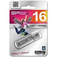 Silicon Power ULTIMA II-I SERIES 16GB USB 2.0/SILVER/ALUMINIUM (4710700395066)