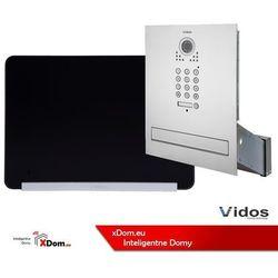 Zestaw s561d-skm skrzynka na listy z wideodomofonem i czytnikiem kart, m690bs2 monitor 7'' wideodomofonu marki Vidos