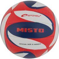 Piłka siatkowa  misto czerwono-niebieski (rozmiar 5) marki Spokey