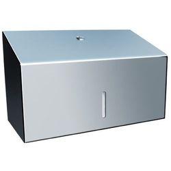 Pojemnik na ręczniki papierowe składane Merida STELLA MINI stal szlachetna połysk z kategorii Pozostałe akcesoria łazienkowe