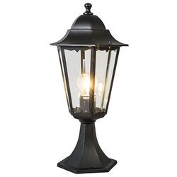 Lampa zewnętrzna cokół New Orleans czarna, marki Ranex do zakupu w lampyiswiatlo.pl