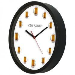 Zegar kwarcowy na ścianę dla piwosza, ATE2301CP